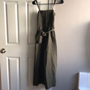 Abercrombie linen jumpsuit
